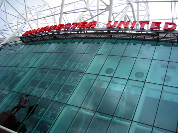 manchester united old trafford. picture by michael lepki