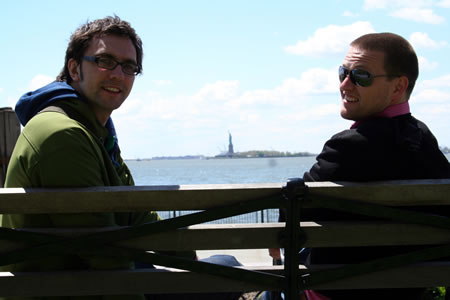 Andy & Tom Statue of Liberty
