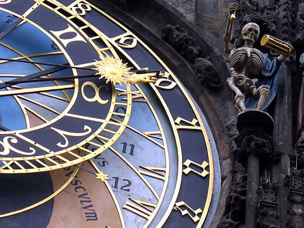 astronomical clock skeleton